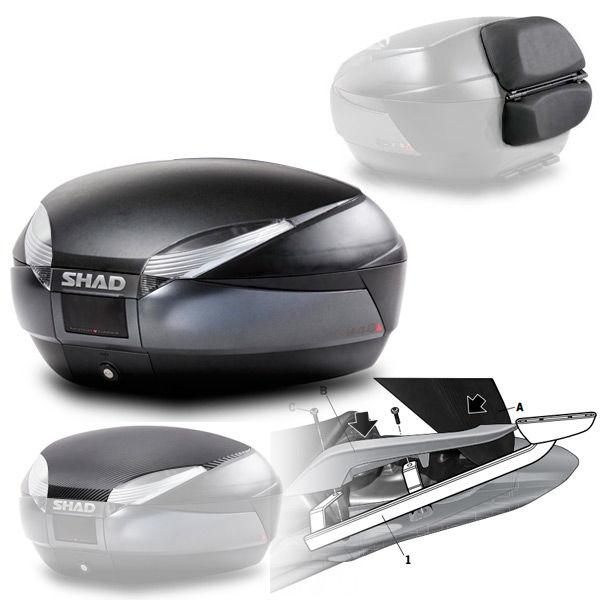 sh48 shad top case pour honda integra. Black Bedroom Furniture Sets. Home Design Ideas