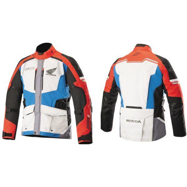 46368e8e9 Veste Alpinestars Andes V2 Honda gris rouge bleu